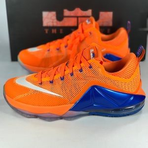 Nike Lebron 12 Low Bright Citrus Men's Size 9.5